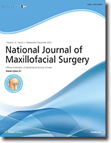 INational Journal of Maxillofacial Surgery